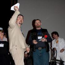 Ростислав Касьяненко и Кирилл Готовцев на церемонии награждения