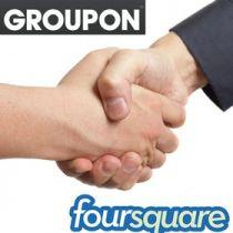 Предложения о выгодных скидках будут появляться рядом с объявлениями от других партнеров Foursquare